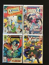 4 Issue Lot - Flashback -1 Excalibur Generation X X-Factor X-Men