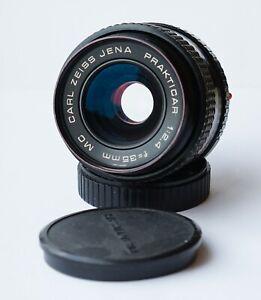 Carl Zeiss Jena MC Prakticar/Flektogon f/2.4 35mm Wide Angle Lens Praktica PB