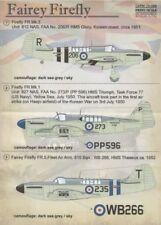 Imprimé échelle 1/72 Fairey Firefly # 72086