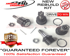 LIFETIME Ball Joint Kit 2 Upper & 2 Lower 2000 2001 2002 Dodge Ram 2500 3500 4x4