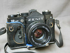 4- APPAREIL PHOTO ARGENTIQUE:ZENIT 12 XP - ZOOM HELIOS 58 mm 1:2 MADE IN USSR