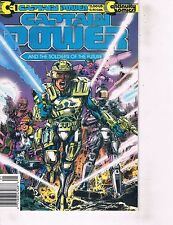 Lot Of 2 Comic Books Captain Power #1 and Cartune Land # 3  ON7