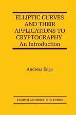 Elliptic Curves and Their Applications to Cryptography : An Introduction by...