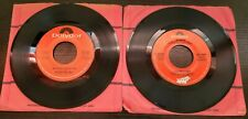 Lot of 2 Polydor Label Records 45RPM (Used)
