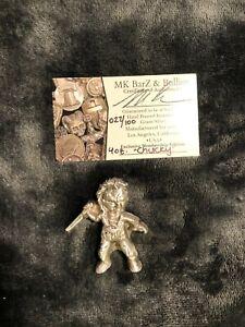 4 Troy Oz. MK BarZ .999 FS Limited Silver Chucky Figure 022/100