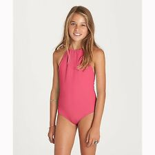 2017 NWT GIRLS BILLABONG SOL SEARCHER ONE PIECE SWIMSUIT $50 10 tropical punch