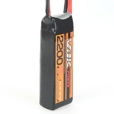 For RC Helicopter XT60-Plug 11.1V 2200mAh 25C 3S VOK Discharger Lipo Battery