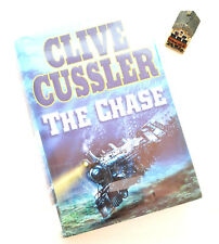 THE CHASE by Clive Cussler Fiction Hardcover book with jacket