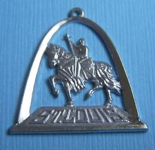 Vintage large Apotheosis of St. Louis statue Missouri MO sterling charm