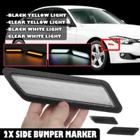 2PCS LED Light Side Marker Indicator Repeaters For BMW 3 Series F30 F31
