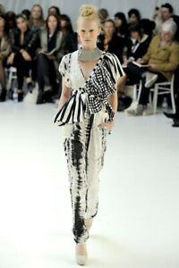sass and bide Vintage Silk Jumpsuit Black Ivory Print Show Style 8