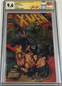 X-Men #50 Gold Edition Limited to 4500 Signed by Stan Lee CGC 9.6 SS Red Label