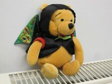 "Bat Pooh 7"" Disney Store Winnie The Pooh Beanbag Beanie Soft Toy"