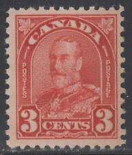 Canada #167 3¢ King George V Arch Issue Mint Never Hinged - D