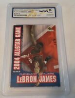 LeBron James 2003-2004 Upper Deck Collectibles Rookie Card #ed /5000 WCG 10