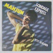 Jean-Baptiste Mondino 45 tours Mahjun 1981