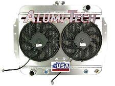 CR3211MPK ALUMI-TECH 1968-1974 AMC JAVELIN AMX DIRECT-FIT RADIATOR W/ SPAL FANS