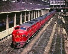 GM&O RAILROAD E-7A/F-7B/E-7A TRAIN 8x10 SILVER HALIDE PHOTO PRINT