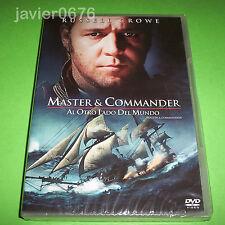 MASTER & COMMANDER AL OTRO LADO DEL MUNDO DVD NUEVO Y PRECINTADO