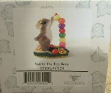 2004 Charming Tails You're The Top Bean 88/124 Fitz & Floyd Limited Edition Nib