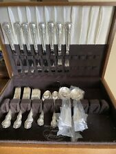 TOWLE FRENCH PROVINCIAL STERLING SILVER FLATWARE 40 PIECE SET SERVICE FOR 8