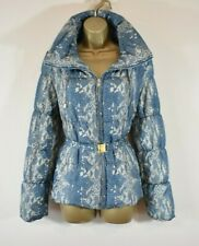 £549  RORBERTO CAVALLI CLASS 10 Animal Print Padded Quilted Puffer Jacket Coat