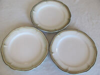 Better Homes & Gardens- Simply Fluted Dillweed - Set of 3 Dinner Plates