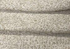 Robert Allen Textured Nubby Metallic Uphol Fabric Glintwood Glacier 5 yds 245992