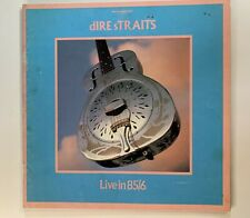 Dire Straits - Live in 85/6 - World Tour Programme with Original Ticket