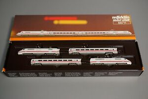 Spur Z - MÄRKLIN--88711...ICE Zug-Set Amtrak...OVP     // 3 CC