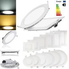 Ultra Slim Recessed LED Panel Light 3W 6W 9W 12W 15W 18W Ceiling Down Light Lamp
