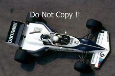 Riccardo Patrese Brabham BT52 USA West Grand Prix 1983 Photograph 1