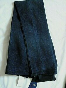 "NEW Ralph Lauren Mens Blue & Black Check 100% Wool Dress Pants TROUSERS 36"" £285"