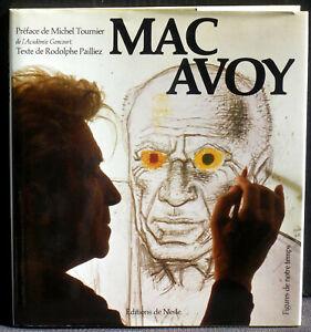 Rodolphe Pailliez Michel Tournier Mac Avoy Nesle NM -