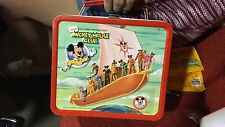 Vintage 1977 Disney's Mickey Mouse Club Metal Lunch Box & Thermos