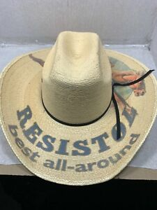Resistol Best All Around Youth Straw Cowboy Hat One Size RSBSAR-3040