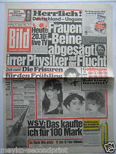 Bild Zeitung vom 29.1.1985, Nike Clark, Uschi Glas, zum 30. Geburtstag