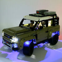 LED Light Lighting Kit ONLY For LEGO 42110 For Land Rover For Defender Car  ^