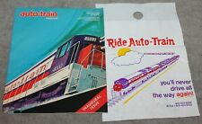 VINTAGE AUTO TRAIN MAGAZINE INAUGURAL ISSUE 1973 DISNEY PACKAGE