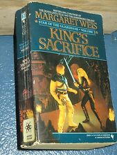 King's Sacrifice by Margaret Weis Fantasy paperback 0553293605