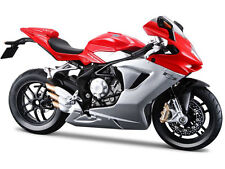 Maisto 11093 MV Agusta F3 2012 Bike Motorcycle 1:12 Red Silver