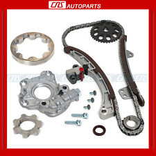 04-10 1.5L Toyota Scion 1NZ-FE 1NZ-FXE Timing Chain Gear Kit Oil Pump w/ Repair