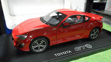 TOYOTA 86 GT Rouge Red LHD au 1/18 AUTOart 78774 voiture miniature de collection