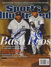 PRINCE FIELDER & MIGUEL CABRERA signed SPORTS ILLUSTRATED DETROIT TIGERS