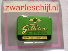 gramophone needle tin gallotone naalden doosje nadeln dose mit 200 nadeln neu