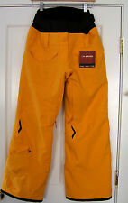 NWT EIDER CrestedButte W Weave Mountain Ski Pants Sun Yellow Black 42 10 $320