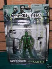 "THE MATRIX: Agent Smith 6"" Action Figure, Hugo Weaving, Warner Bros,1999, New!"