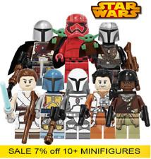 LEGO New Star Wars Minifigures Yoda Luke Skywalker Obi Wan Trooper Mandalorian