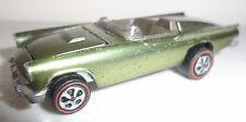 Hot Wheels Redline RARE Custom Thunderbird T-bird Green Vintage