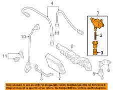 MAZDA OEM 01-02 Protege 2.0L-L4-Ignition Coil FP8518100C9U